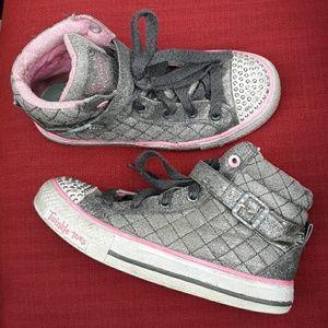 Light up gemstones Skechers Twinkle Toes Girls 2